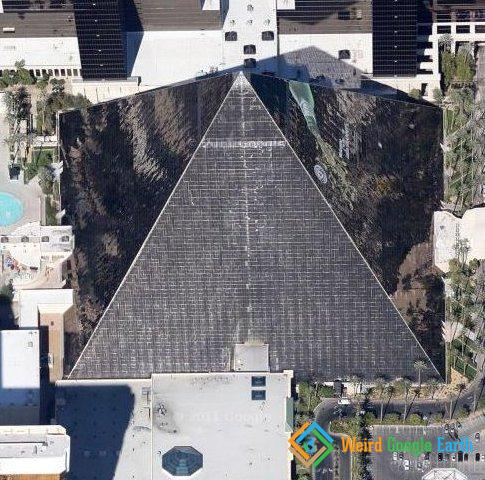 Luxor Pyramid in Las Vegas, Nevada