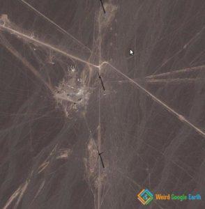 Windmills in Xinjiang, China (Close-up)