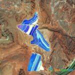 Potash Mine Pools, Moab, Utah, USA