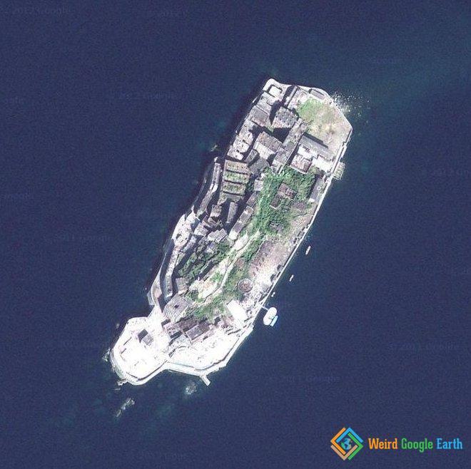 Hashima Ghost Island, Japan