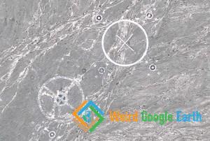 Bomb Targets, Bayinguoleng, Xinjiang, China
