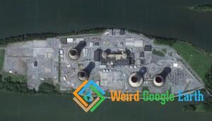 Three Mile Island Nuclear Plant, Middletown, Pennsylvania, USA