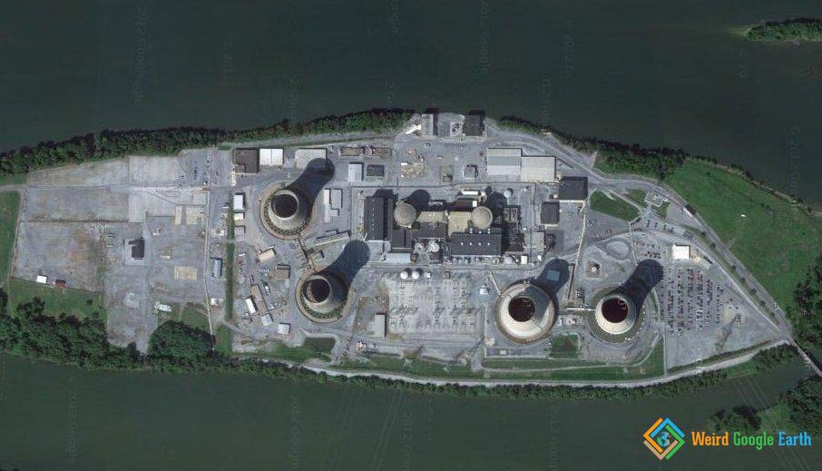 Three Mile Island Nuclear Plant, Middletown, Pennsylvania, USA
