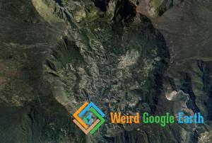 Town in a Volcano Crater, Cilaos, Reunion