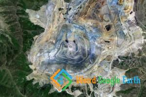 Bingham Canyon Mine, Herriman, Utah, USA