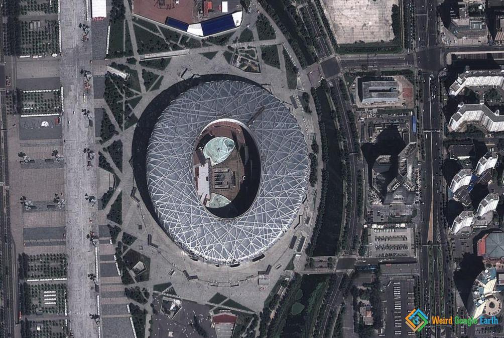 Bird's Nest, Beijing, China 