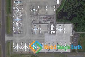 Boeing Plane Field, Everett, Washington, USA