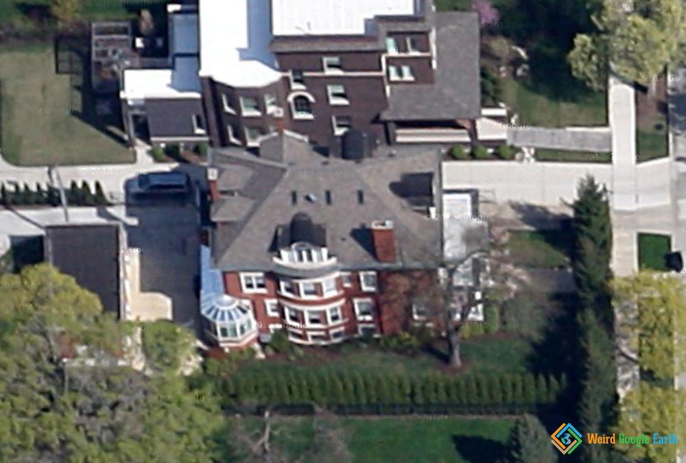 Barack Obama's Chicago House, Chicago, Illinois, USA
