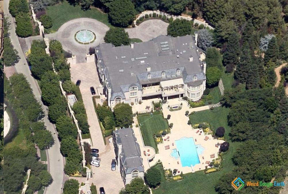 Denzel Washington's House, Beverly Hills, California, USA