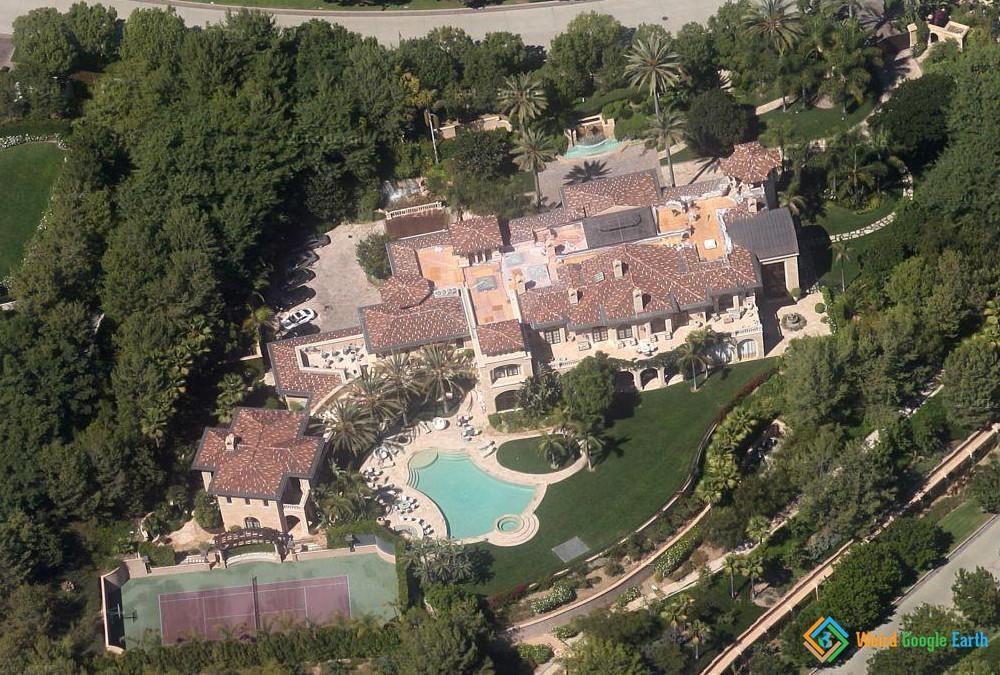 Eddie Murphy's House, Los Angeles, California, USA