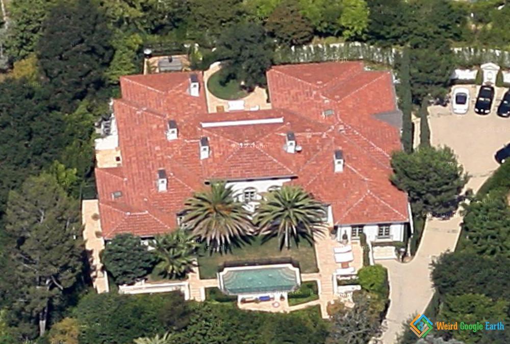 House of Victoria and David Beckham, Beverly Hills, California, USA