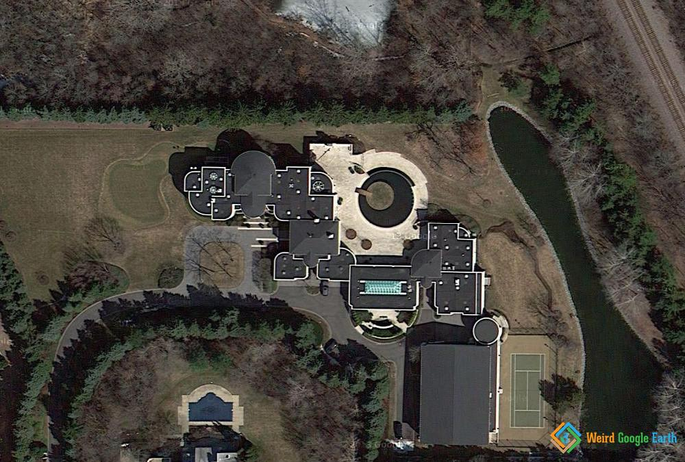 Michael Jordan's House, Highland Park, Illinois, USA