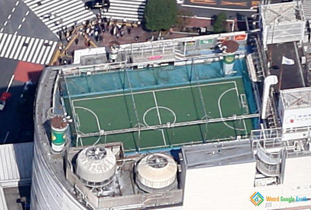 Mini Soccer Field, Tokyo, Japan