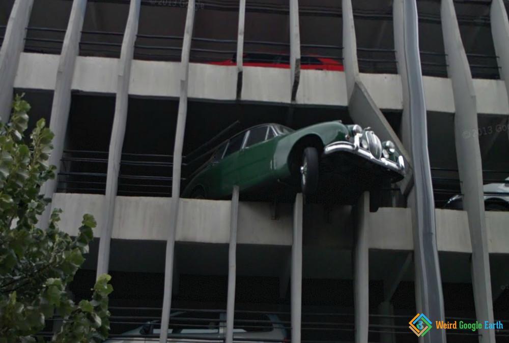 Aggressive Parking, Bordeaux, France