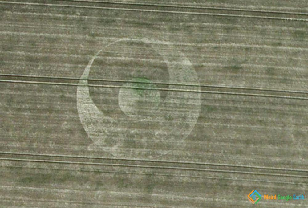 Southend-on-Sea Crop Circle, Southend-on-Sea, UK