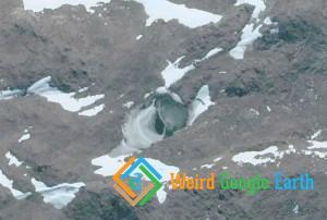 UFO Base Entrance, Antarctica
