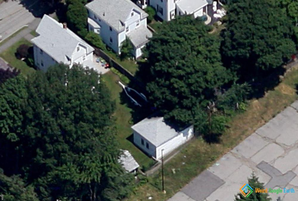 Djohar Tsarnaev's Hiding Place, Watertown, Massachusetts, USA