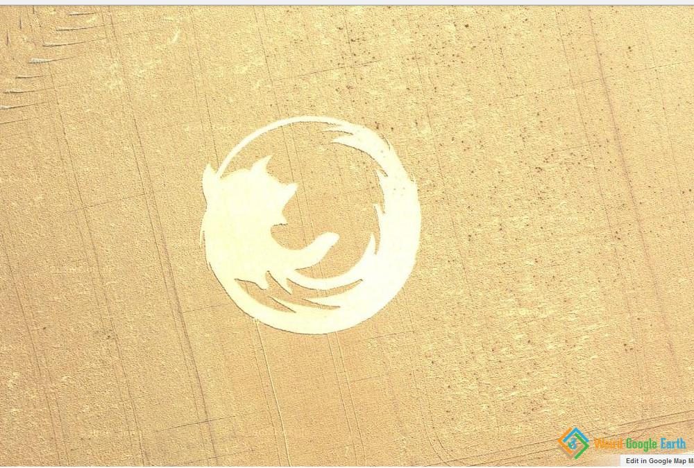 Firefox Logo, Dayton, Oregon, USA