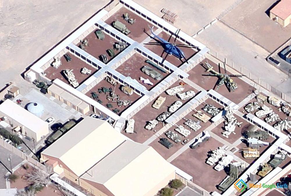 Soviet Military Machines, Nellis AFB, Nevada, USA