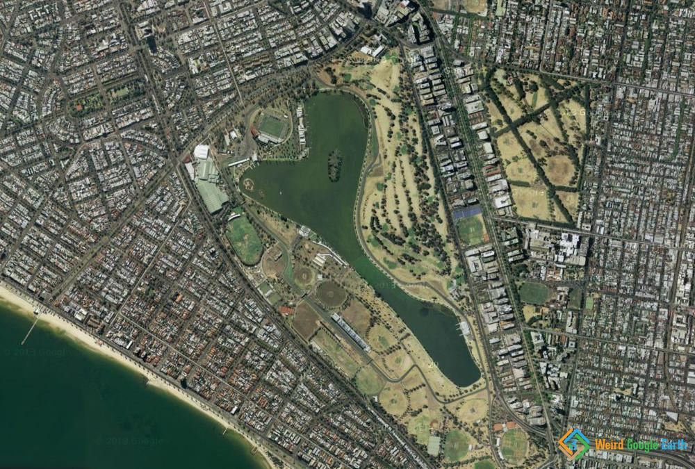 Australia Formula 1 Track, Albert Park Victoria, Australia