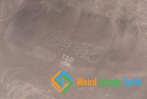 Coca-Cola Logo, Arica, Arica y Parinacota, Chile