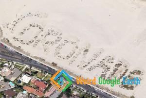 Coronado Beach Sign, Coronado, California, USA