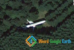 Plane in the Woods Turned Into a Home, Hillsboro, Oregon, USA