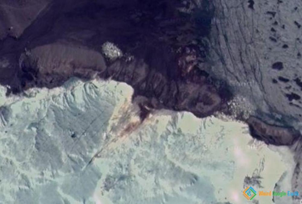 Blood Falls, McMurdo Dry Valleys, Victoria Land, East Antarctica.