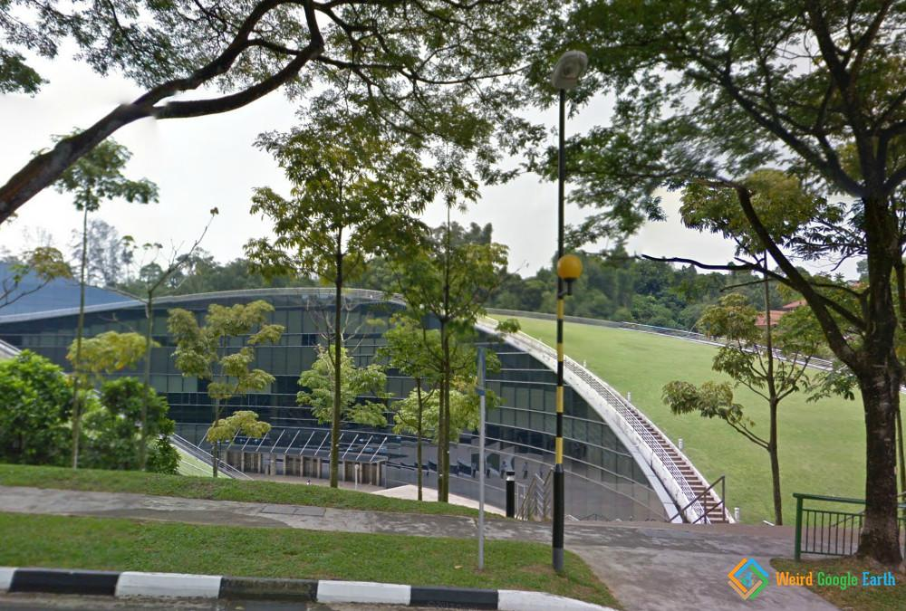 Green Roof of the School of Art, Design and Media, Nanyang Technological University, Singapore