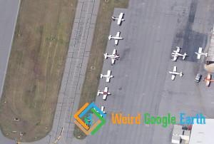 Lots of World War II Planes, Hickory, North Carolina, USA
