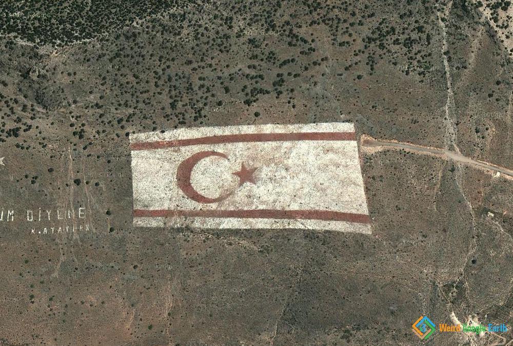 Turkish Flag on Cyprus