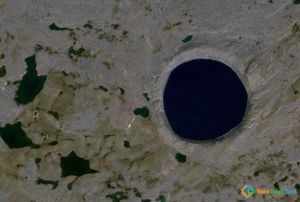 Pingualuit Impact Crater, Quebec, Canada