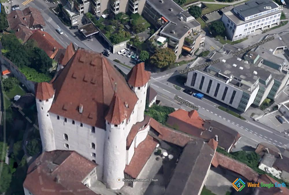 Thun Castle, Thun, Switzerland