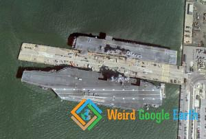 USS Dwight D. Eisenhower (CVN-69), Naval Station Norfolk, Norfolk, Virginia, USA