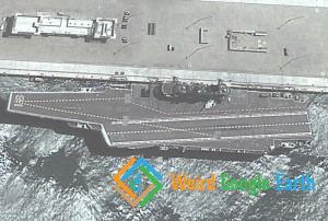 Chinese Aircarft Carrier Liaoning, Qingdao, Shandong, China
