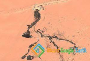 Landfill in the Desert, Najran, Saudi Arabia