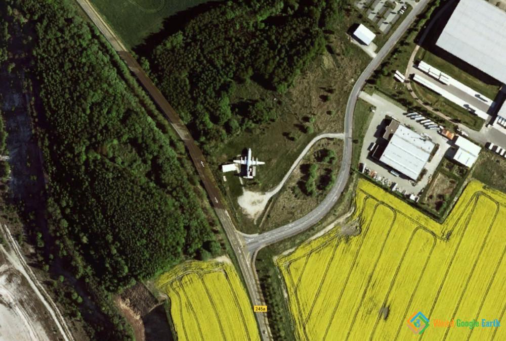 Roadside Plane, Harbke, Germany