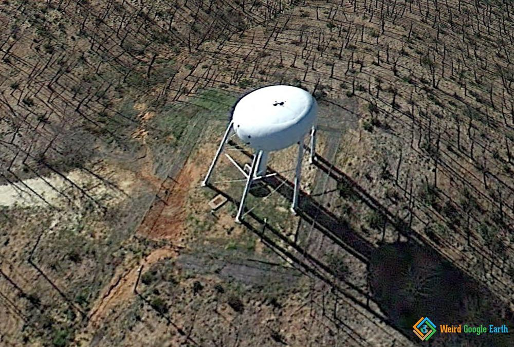 Water Tower in the Woods, Bastrop, Texas, USA
