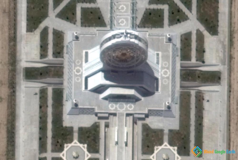 $90M Ferris Wheel, Ashgabat, Turkmenistan