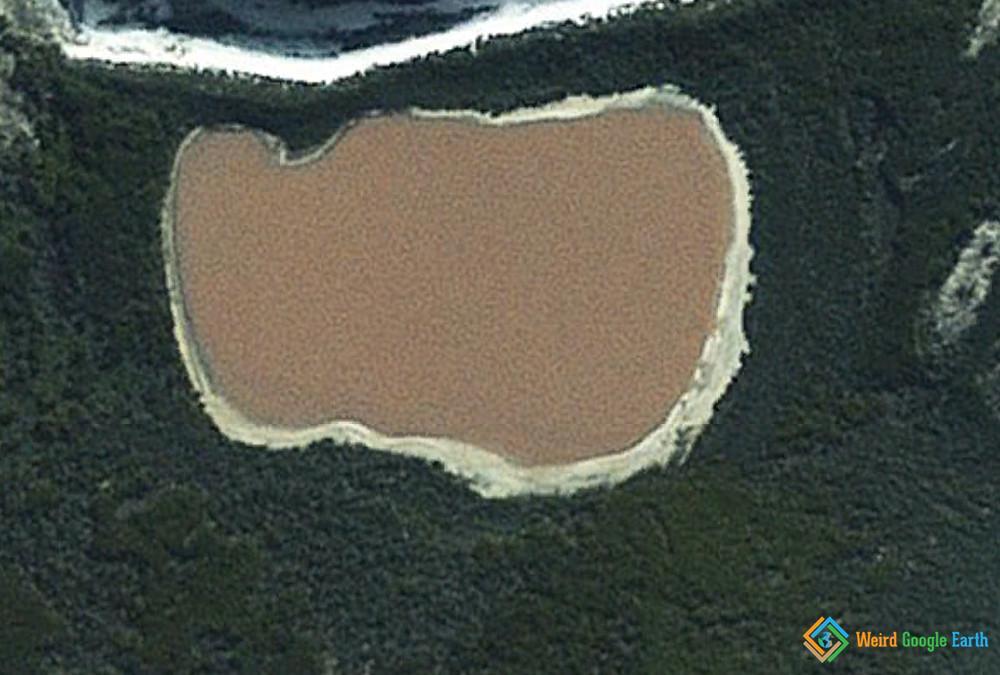 Pink Lake Hillier, Western Australia, Australia
