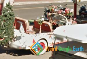 Santa's Summer Car, Seligman, Arizona, USA