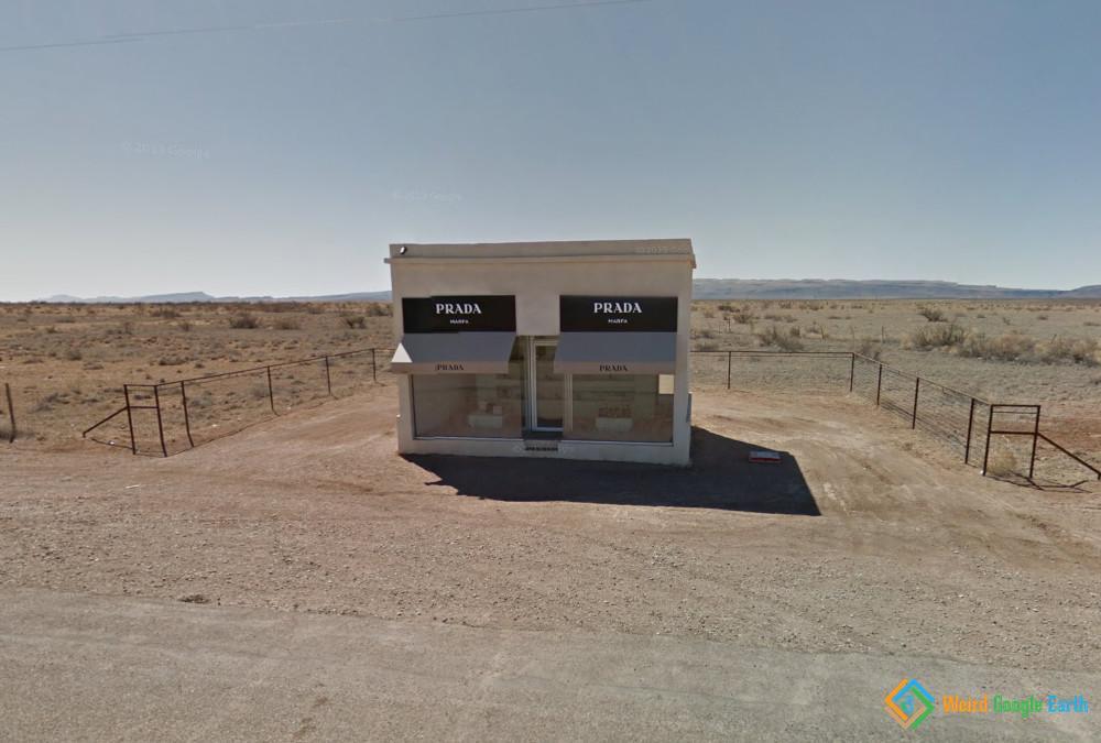 Prada Store, Out There, Somewhere, Valentine, Texas, USA