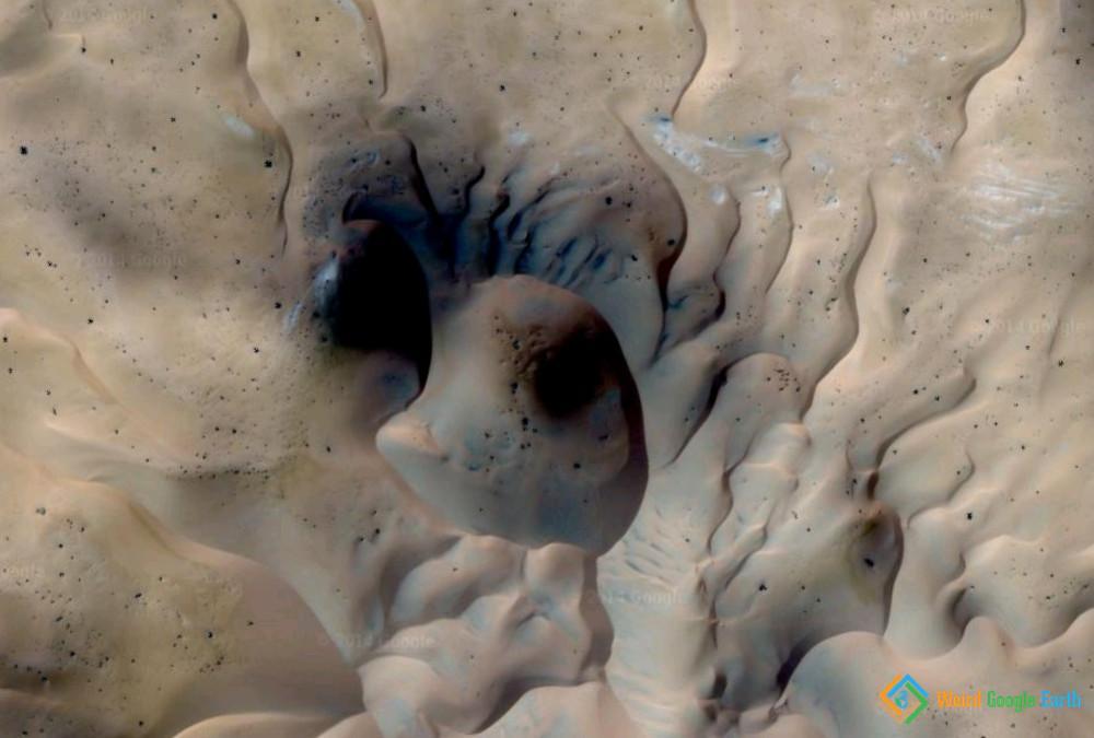 Sand Dunes, El Borma, Algeria