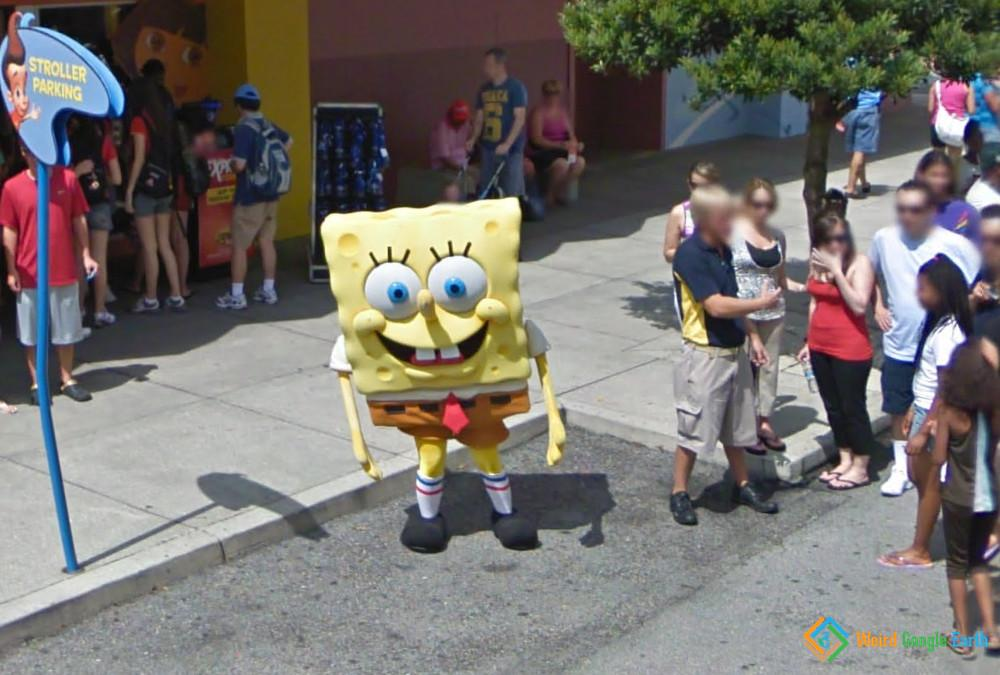 SpongeBob SquarePants in Orlando, Orlando, Florida, USA