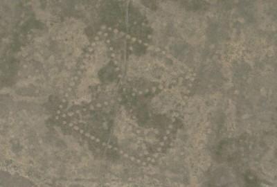 Ushtogay Square, Steppe Geoglyphs, Kazakhstan