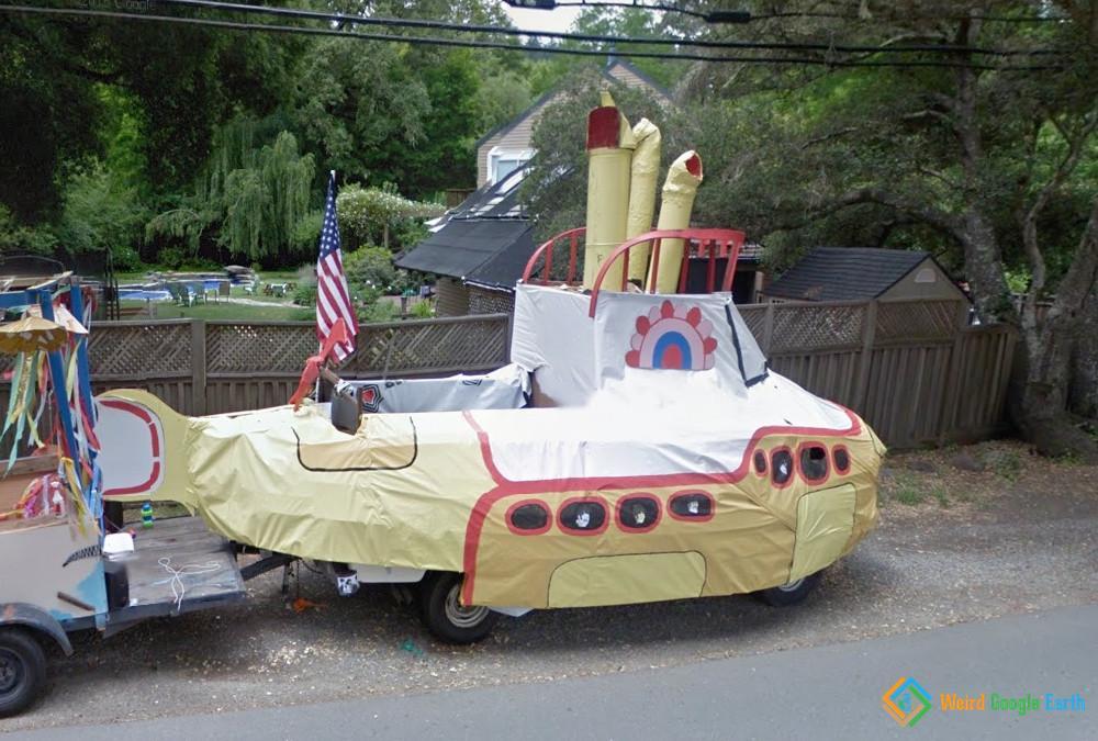 Yellow Submarine, San Geronimo, California, USA