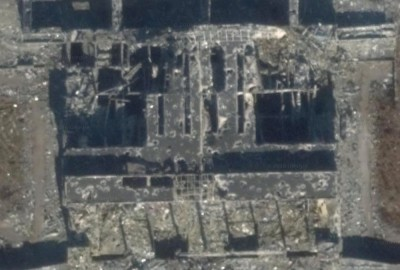 Shelled-Out Donetsk Airport