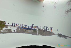 Google Earth Flipped Camera
