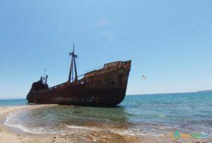 Dimitrios Shipwreck, Krokees, Greece