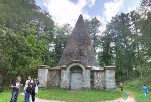 Pyramid in Rapa, Rapa, Poland